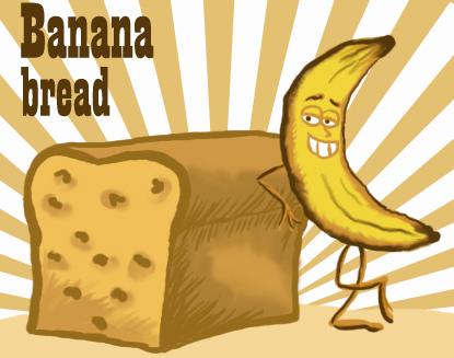 The amazing bread a. Banana clipart banaba