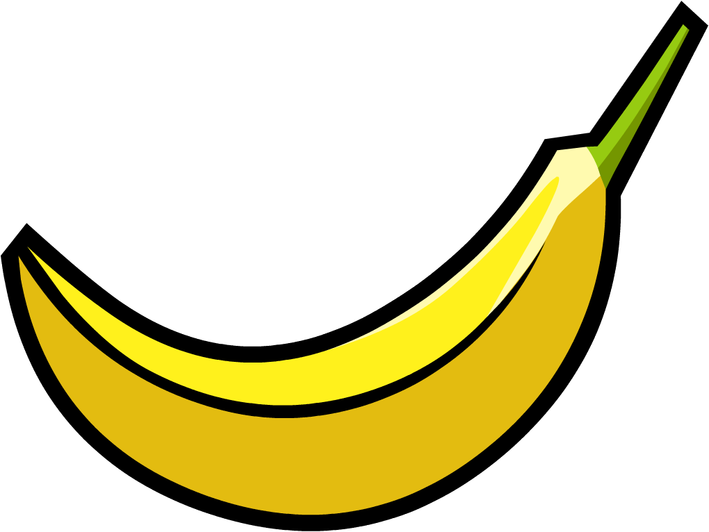 Png image free picture. Good clipart banana