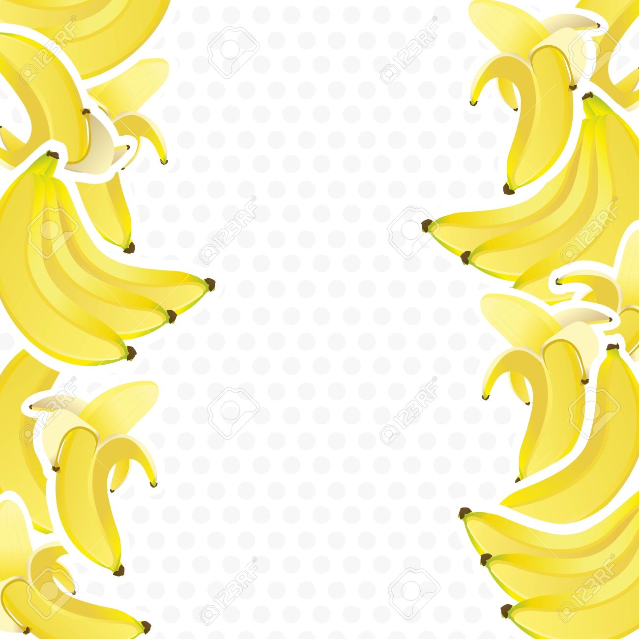Background on wallpaperget com. Banana clipart border