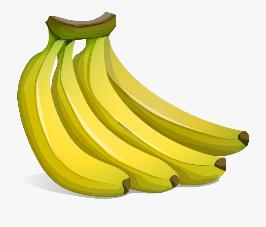 Banana clipart bunch banana. Picture transparent a of