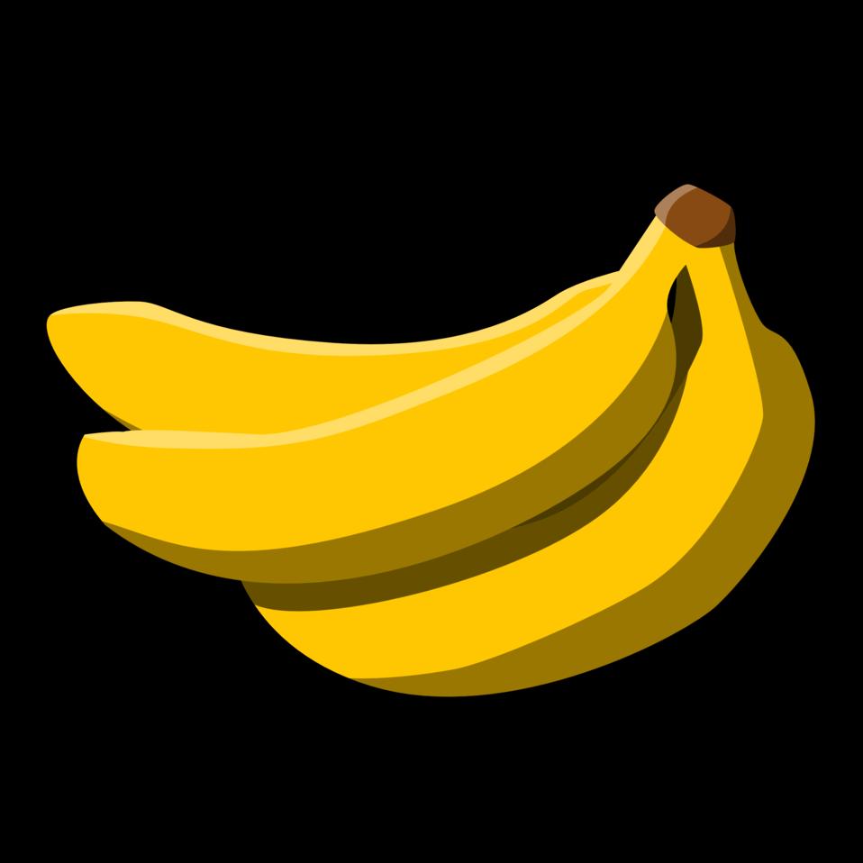 Public domain clip art. Banana clipart bunch banana