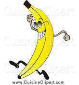 Cuisine new stock designs. Banana clipart character