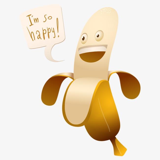 Banana clipart character. Bananas png image and
