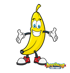Banana clipart cute. Downloads anything cartoon for