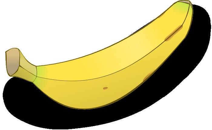 Bananas apples fruit unpeeled. Banana clipart food