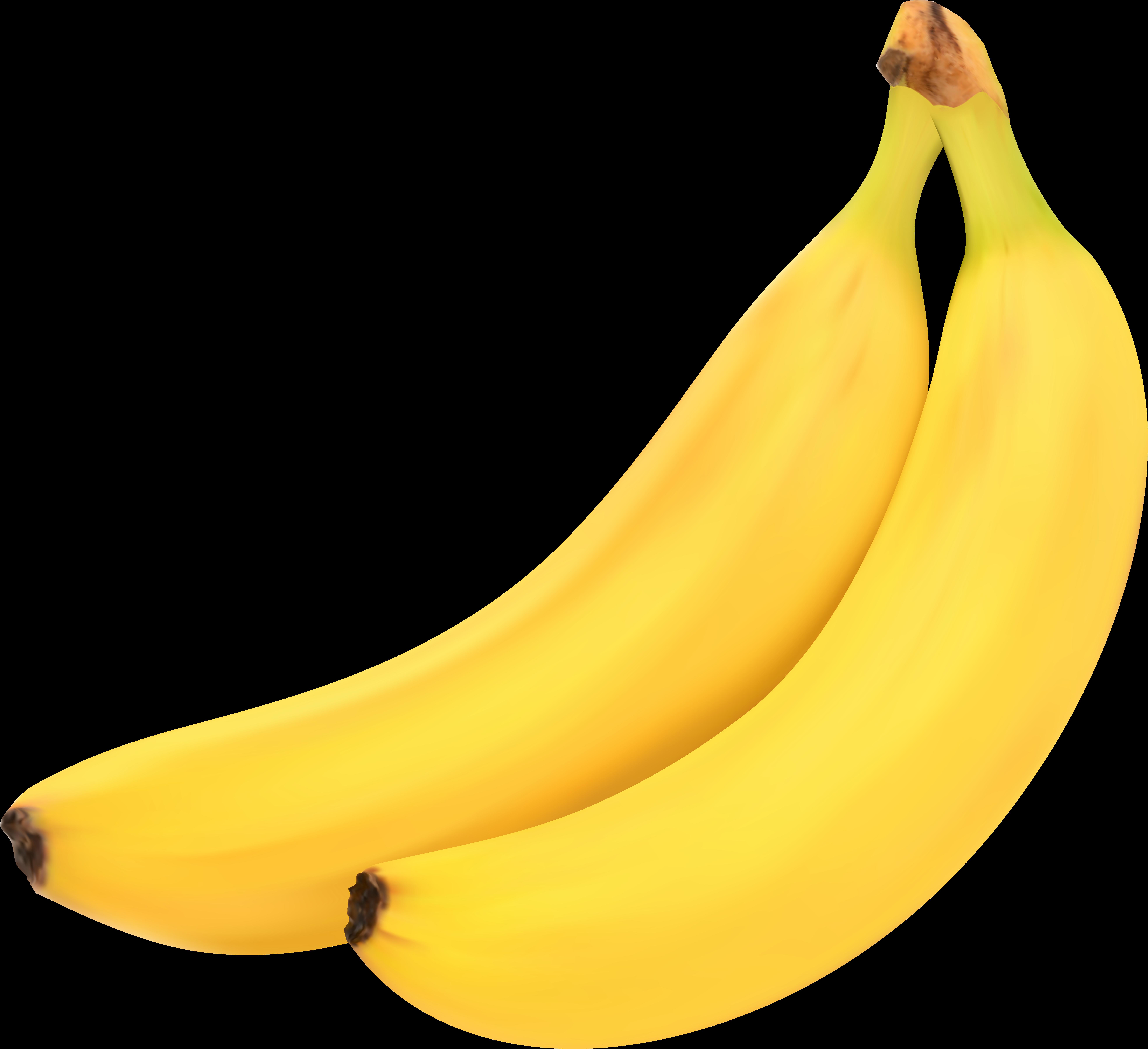 Clip art library . Clipart banana high quality