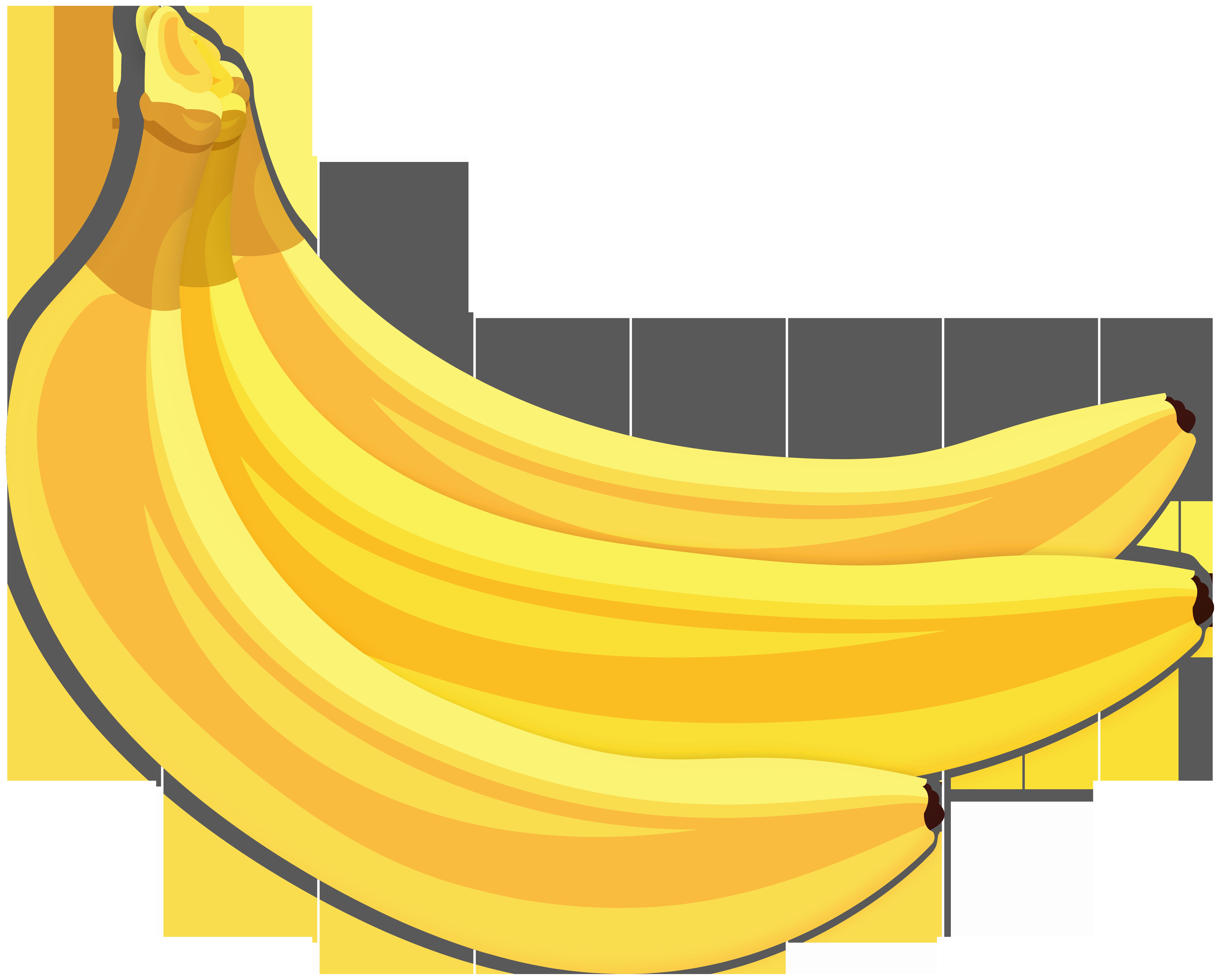 Banana clipart high quality. Bananas png clip art