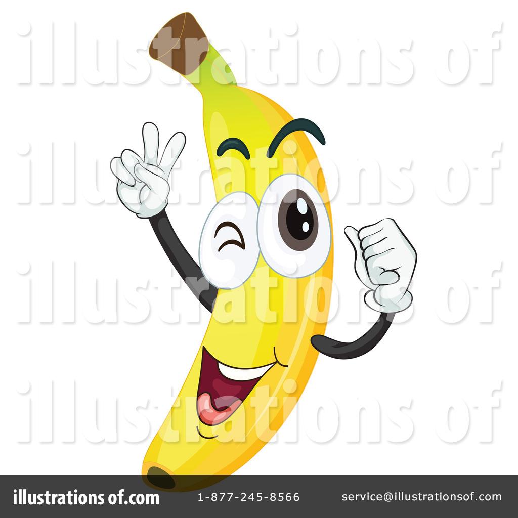 Banana by graphics rf. Bananas clipart illustration