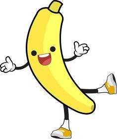 nifty designs for. Banana clipart logo