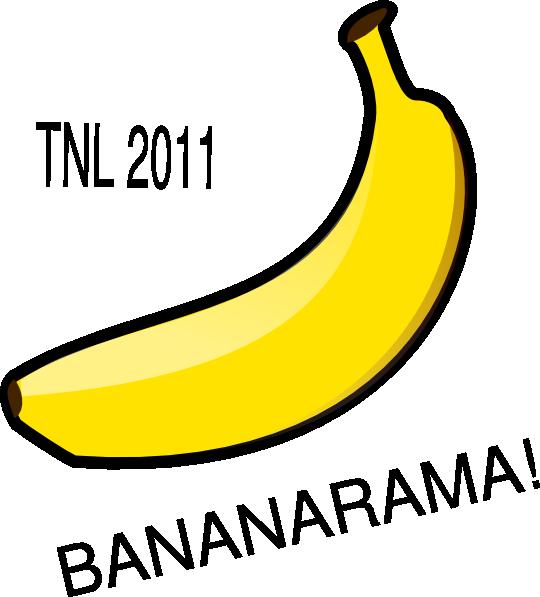 Clip art at clker. Banana clipart logo