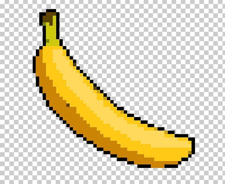 Pocket edition pixel art. Banana clipart minecraft