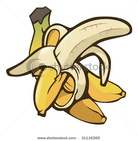 Bananas clipart illustration. Clip art of two