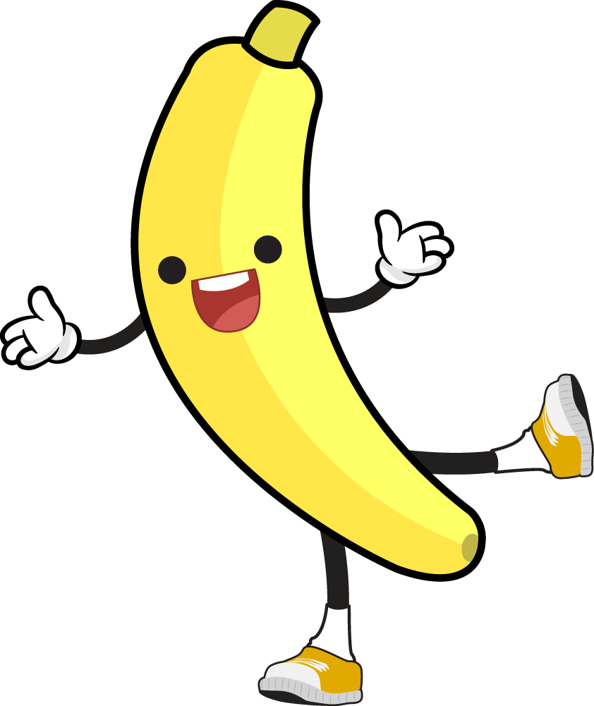 Free to use clipartix. Clipart person banana