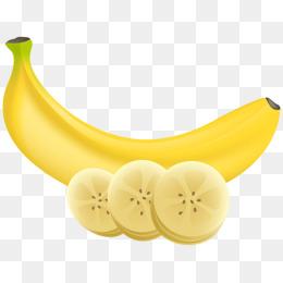 Slices png vectors psd. Banana clipart piece