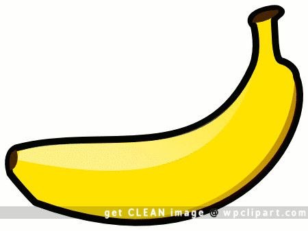 Fruit clip art vbs. Banana clipart printable