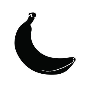 Banana . Bananas clipart shadow