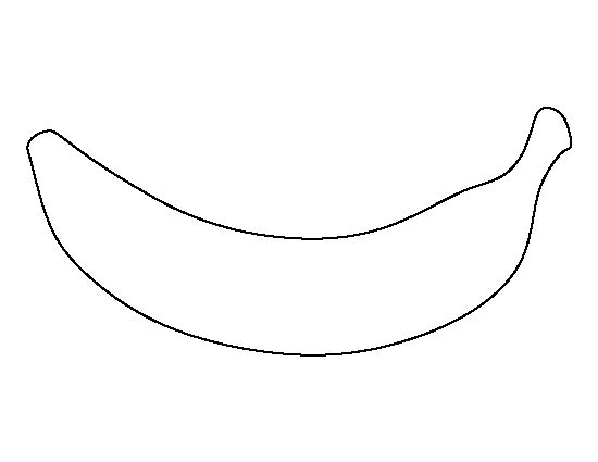 Banana clipart template. Pin by muse printables