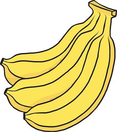 Bananas premium clipartlogo com. Banana clipart three