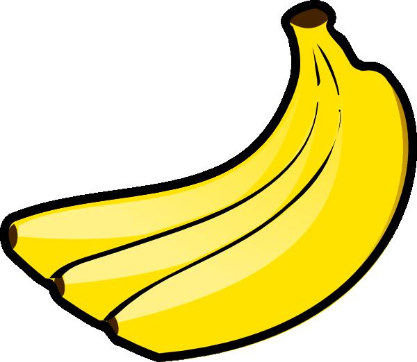 Bananas clip art at. Banana clipart three