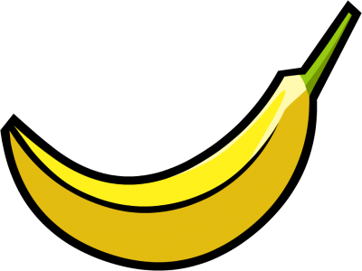 Banana clipart transparent background. Bananas gallery isolated stock