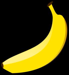 Clip art at clker. Banana clipart vector