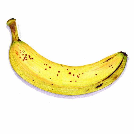 Banana clipart waste. Ripe art food illustration