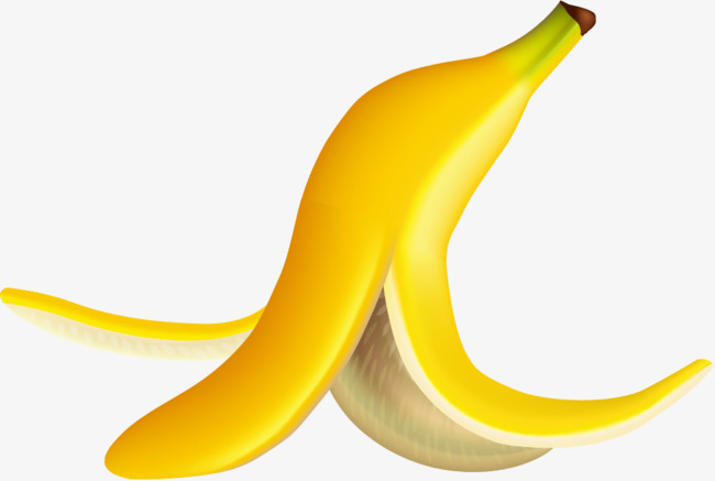 Banana clipart waste. Peel png vectors psd