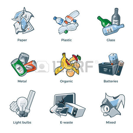 Trash agricultural pencil and. Banana clipart waste