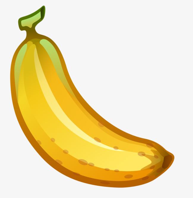 Cartoons mature fruit png. Banana clipart yellow banana