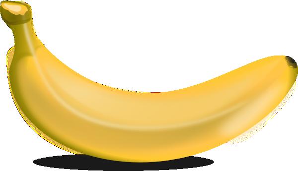 Clip art at clker. Banana clipart yellow banana