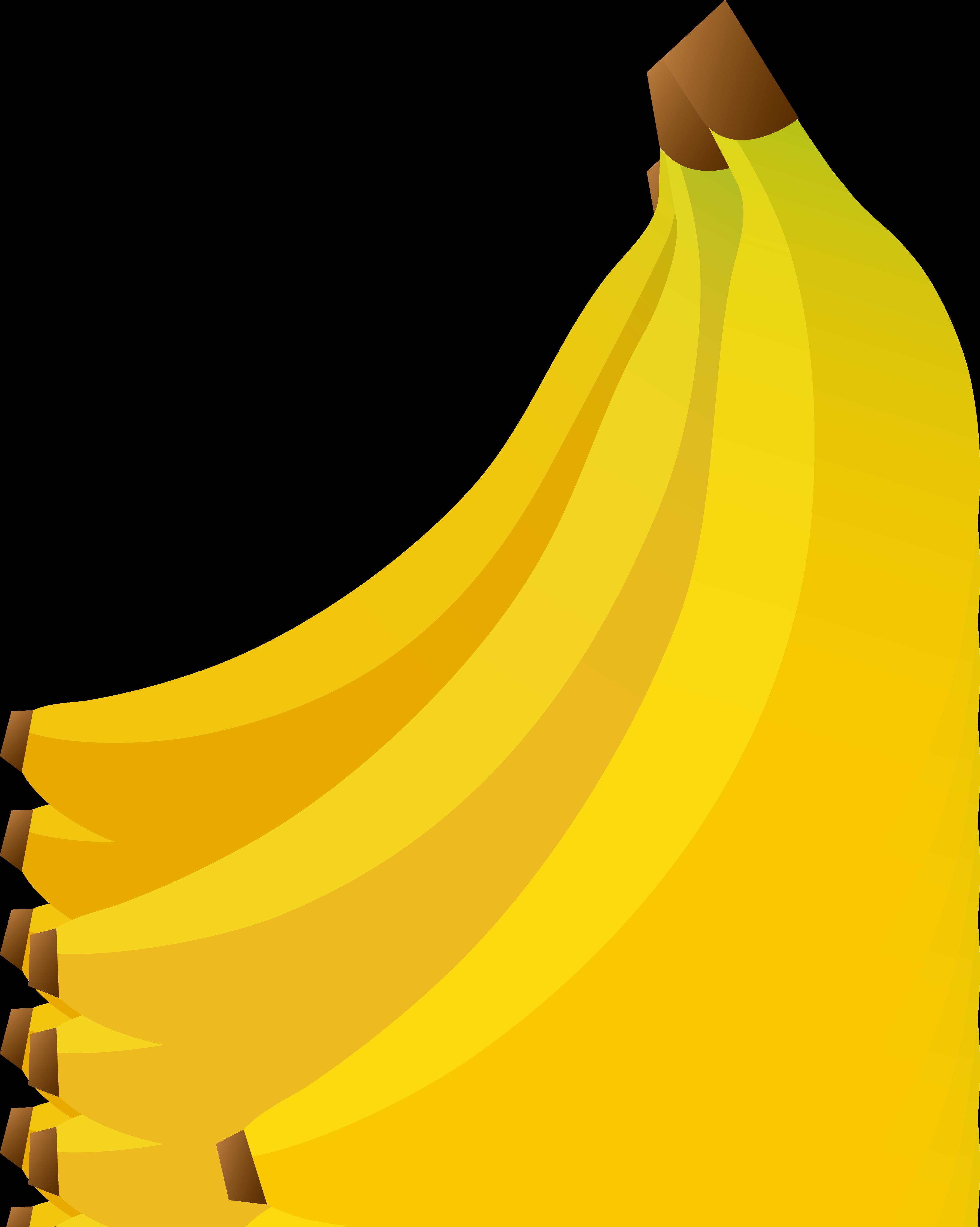 Banana clipart yellow banana. Bananas free image