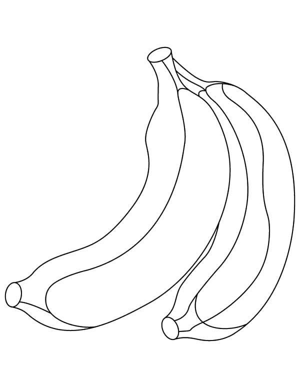 Bananas clipart 2 banana. Drawing images at getdrawings
