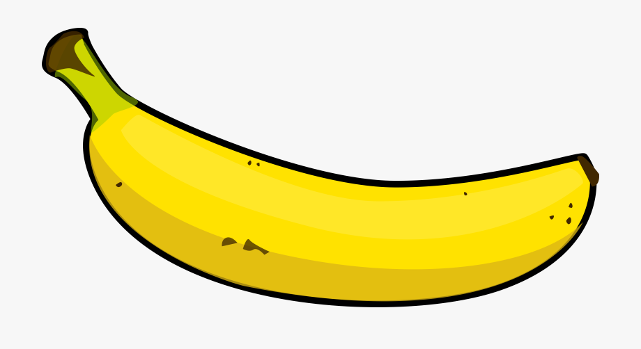 Bananas clipart. Good banana look at
