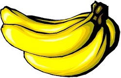 Bananas clipart. Free banana