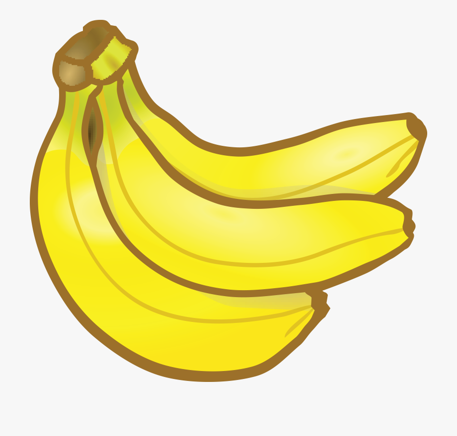 Free of a banana. Bananas clipart