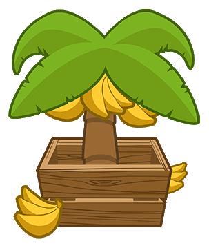Bananas clipart banaba. Banana farm bloons wiki