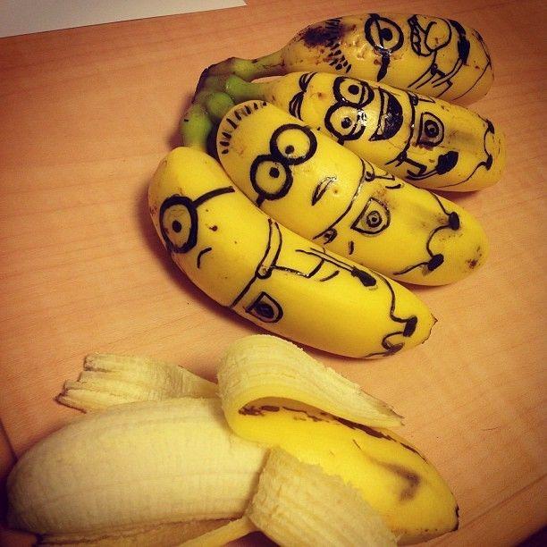 Bananas clipart banana face.  best art images