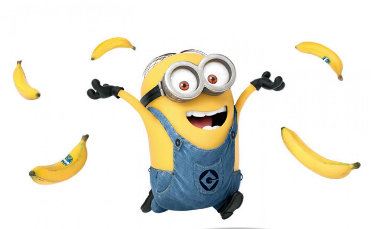 Weekend box office winners. Bananas clipart banana face