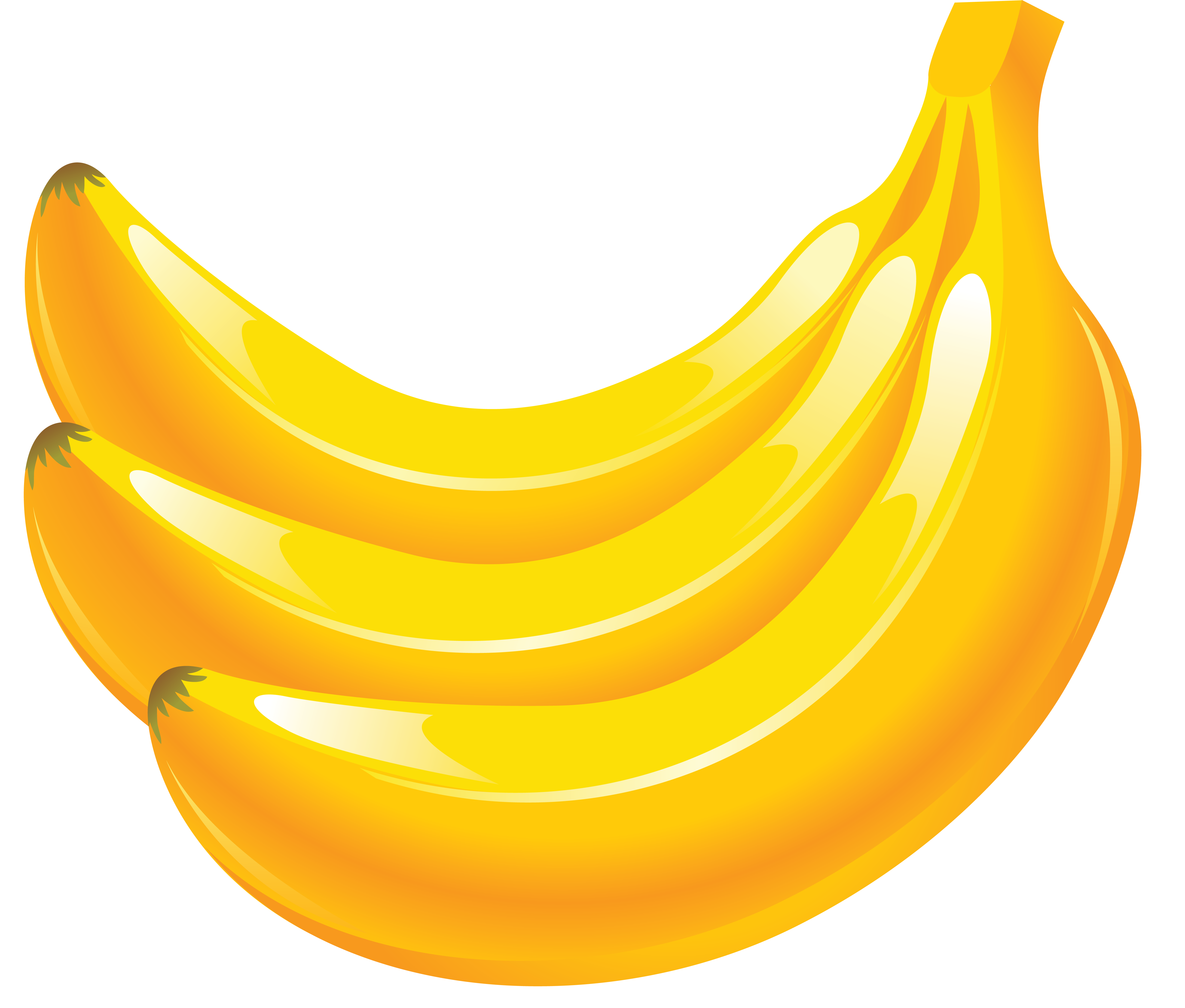 Bananas clipart banana fruit. Pin by hopeless on
