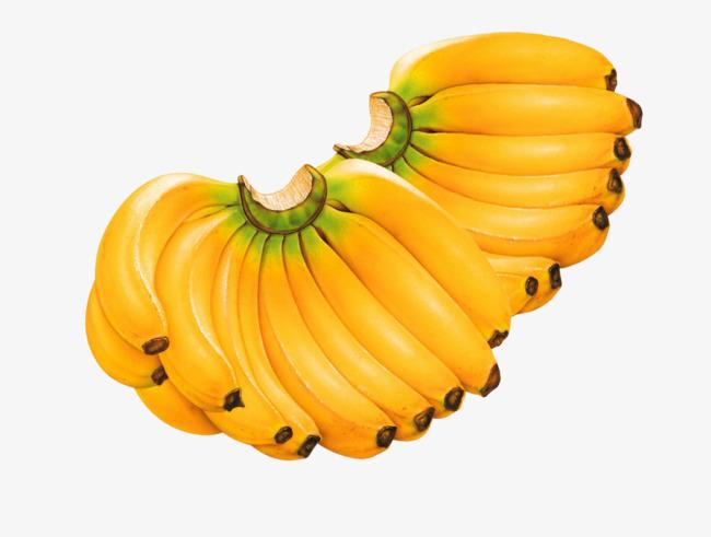 Ripe mature png image. Bananas clipart banana fruit