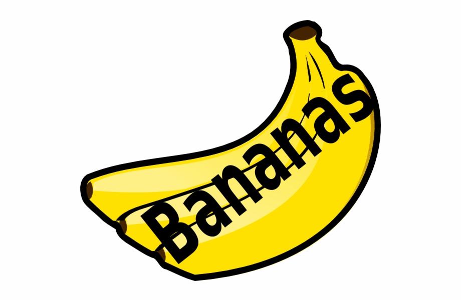 Bananas clipart bannan. With spelling do you