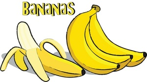 Banana pudding bannana pencil. Bananas clipart bnana