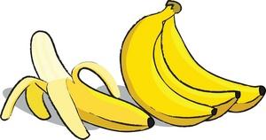 Bananas clipart bunches. Free banana clip art