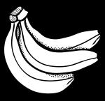 Onlinelabels clip art bunch. Bananas clipart bunches