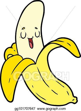 Eps illustration cartoon banana. Bananas clipart carton
