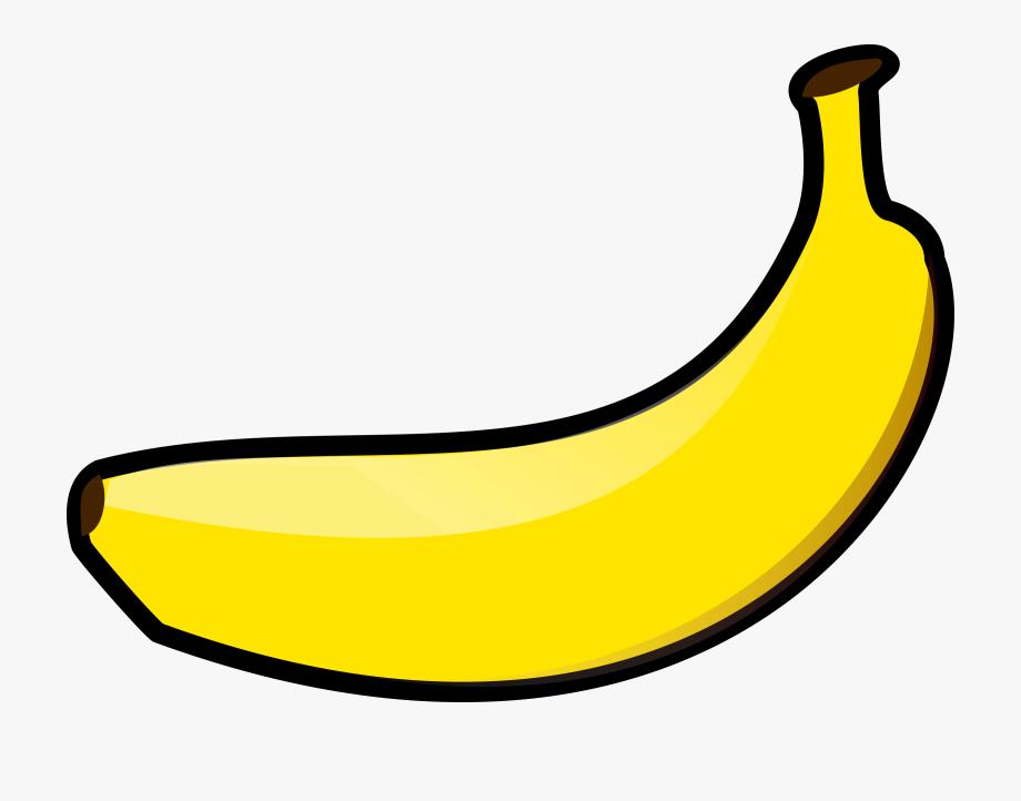 Bananas clipart carton. Banana yellow object transparent