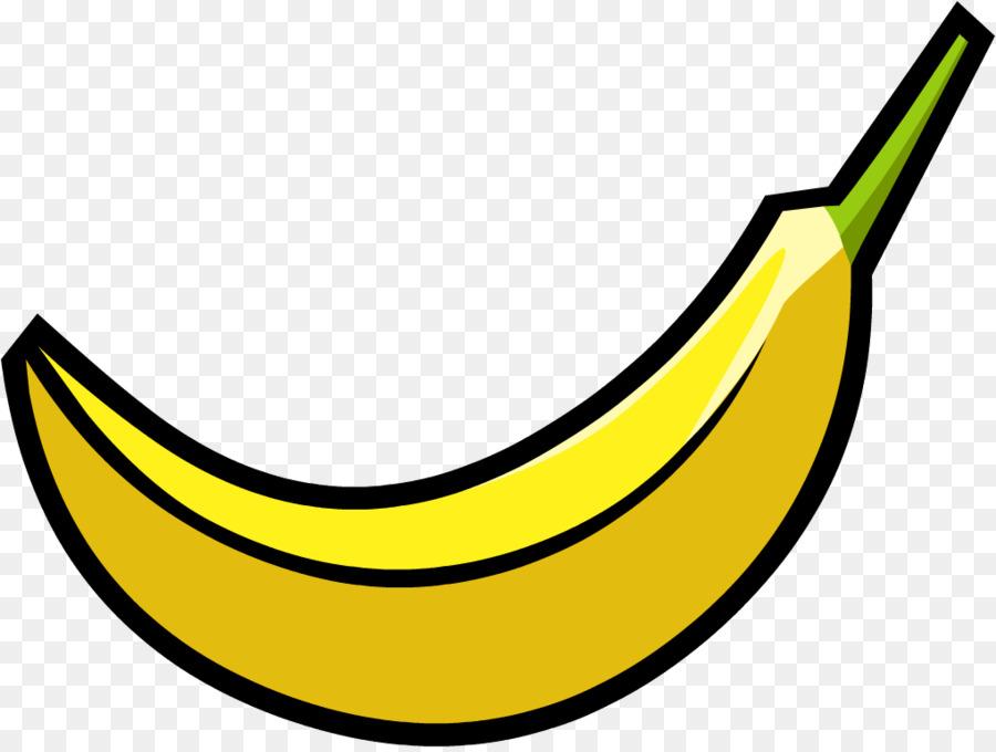Food clip art . Clipart banana transparent background