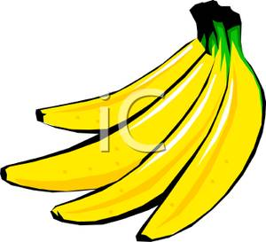 A yellow bunch of. Bananas clipart clip art