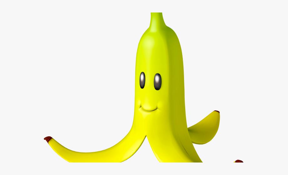 Banana peel cliparts mario. Bananas clipart double