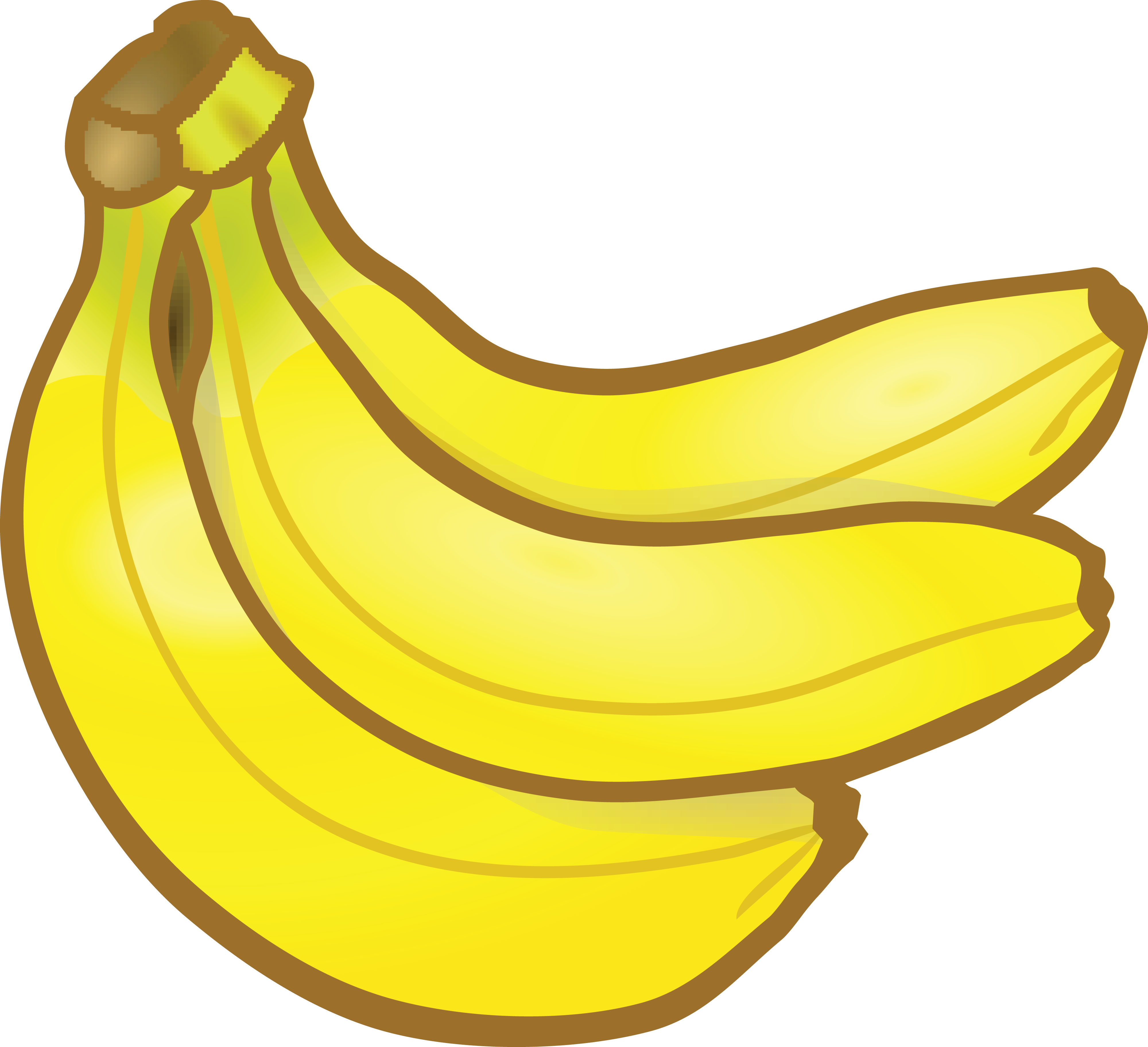 Bananas clipart double. Hd free of a